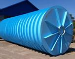 Горизонтальная подземная емкость на 10 кубов производство AlePlast
